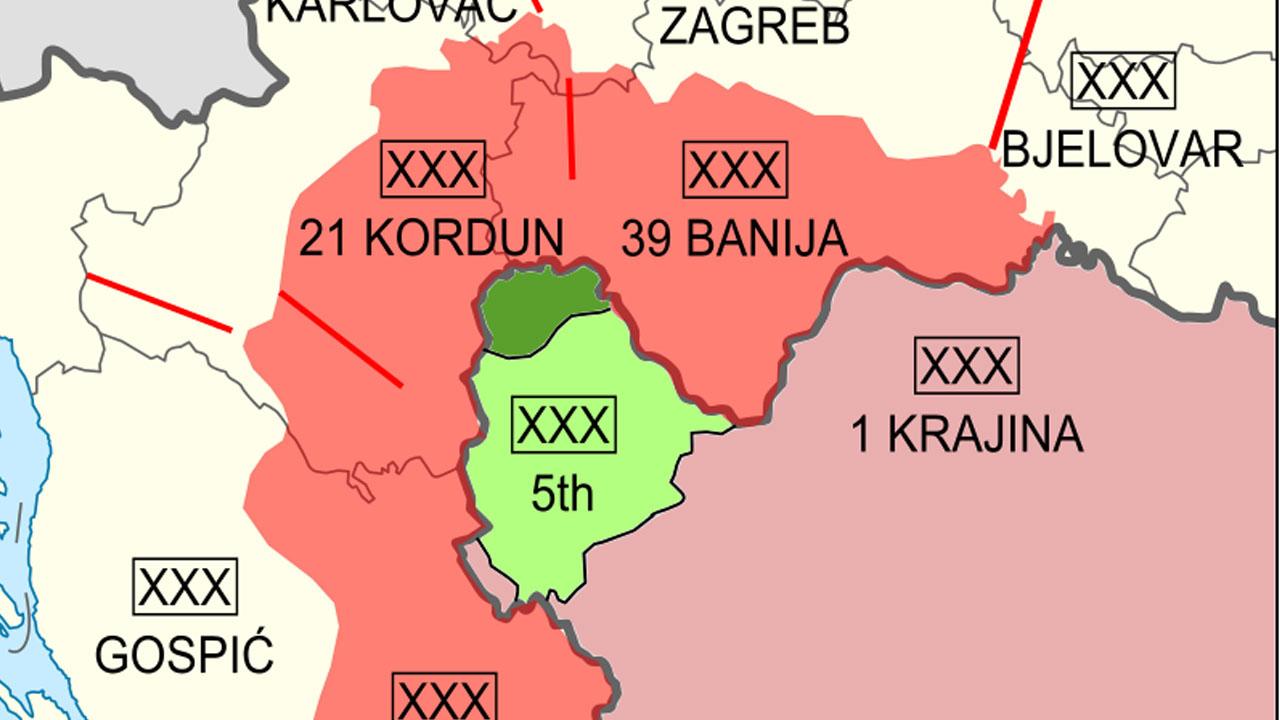 Mapa srpske krajine