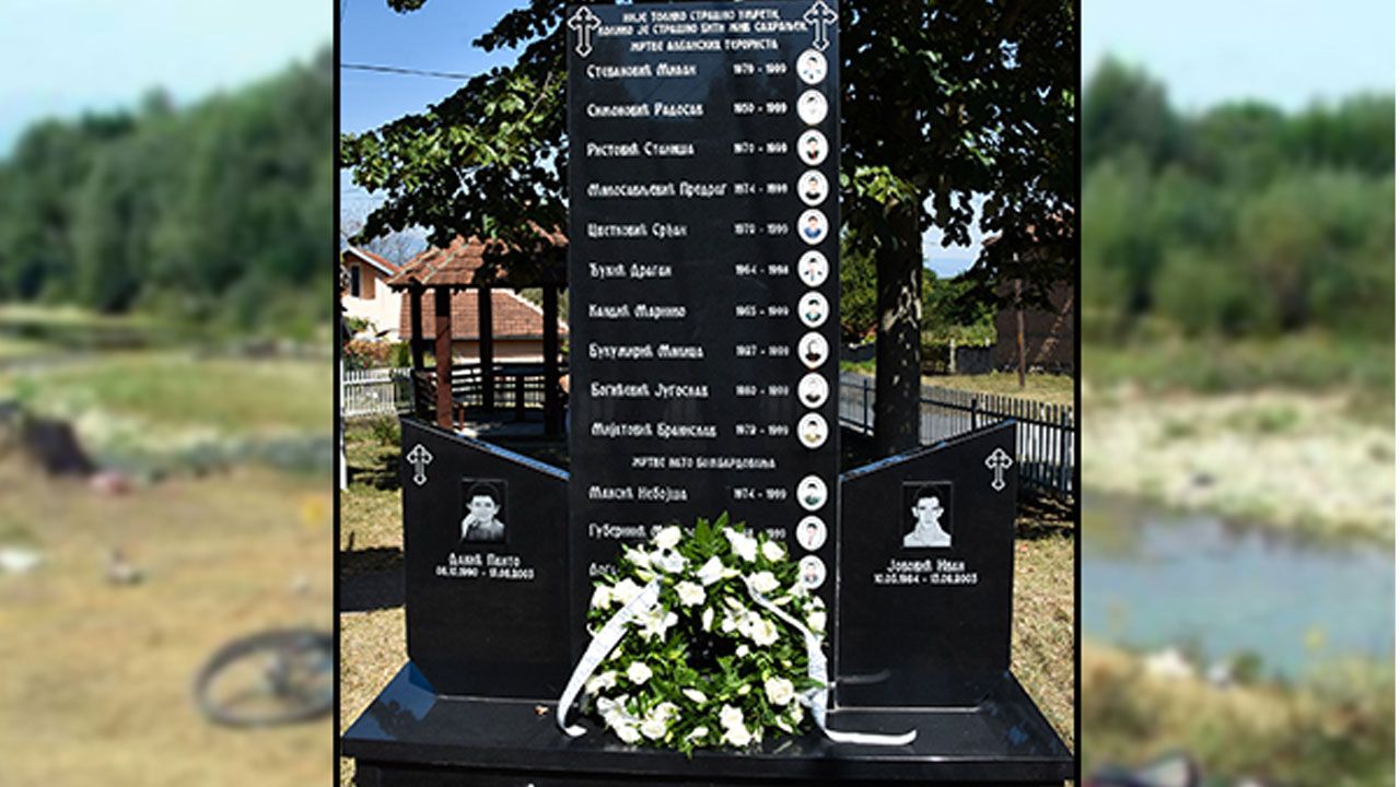 Споменик у Гораждевцу