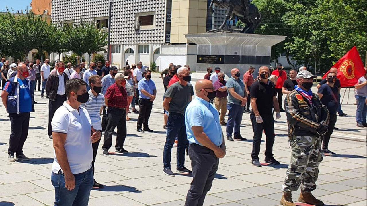 Протести ветерана ОВК