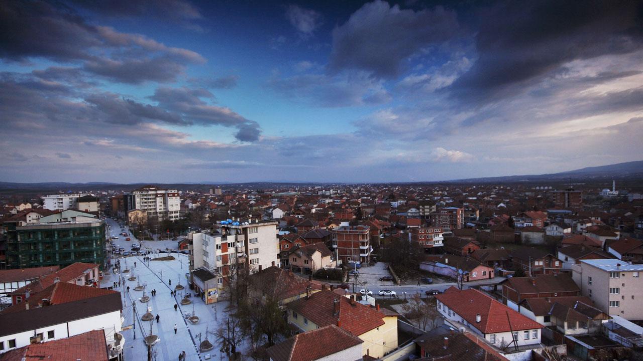 Вучитрн - панорама