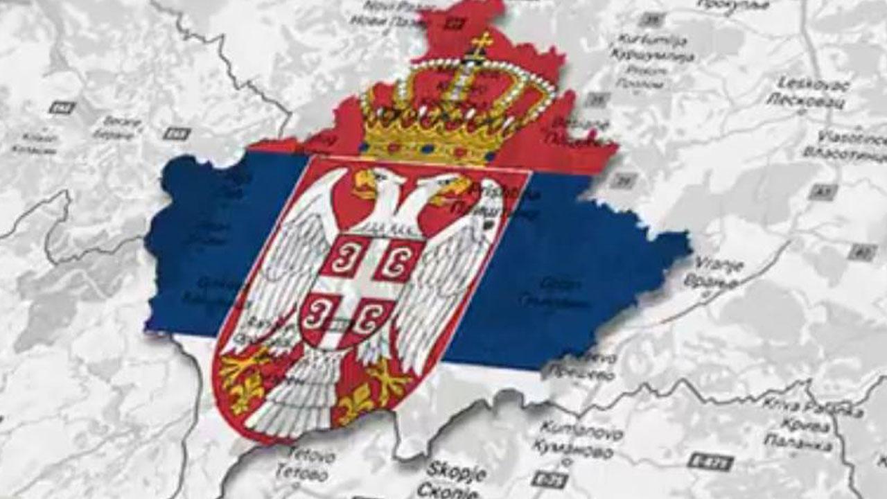 Мапа Косова - илусрација