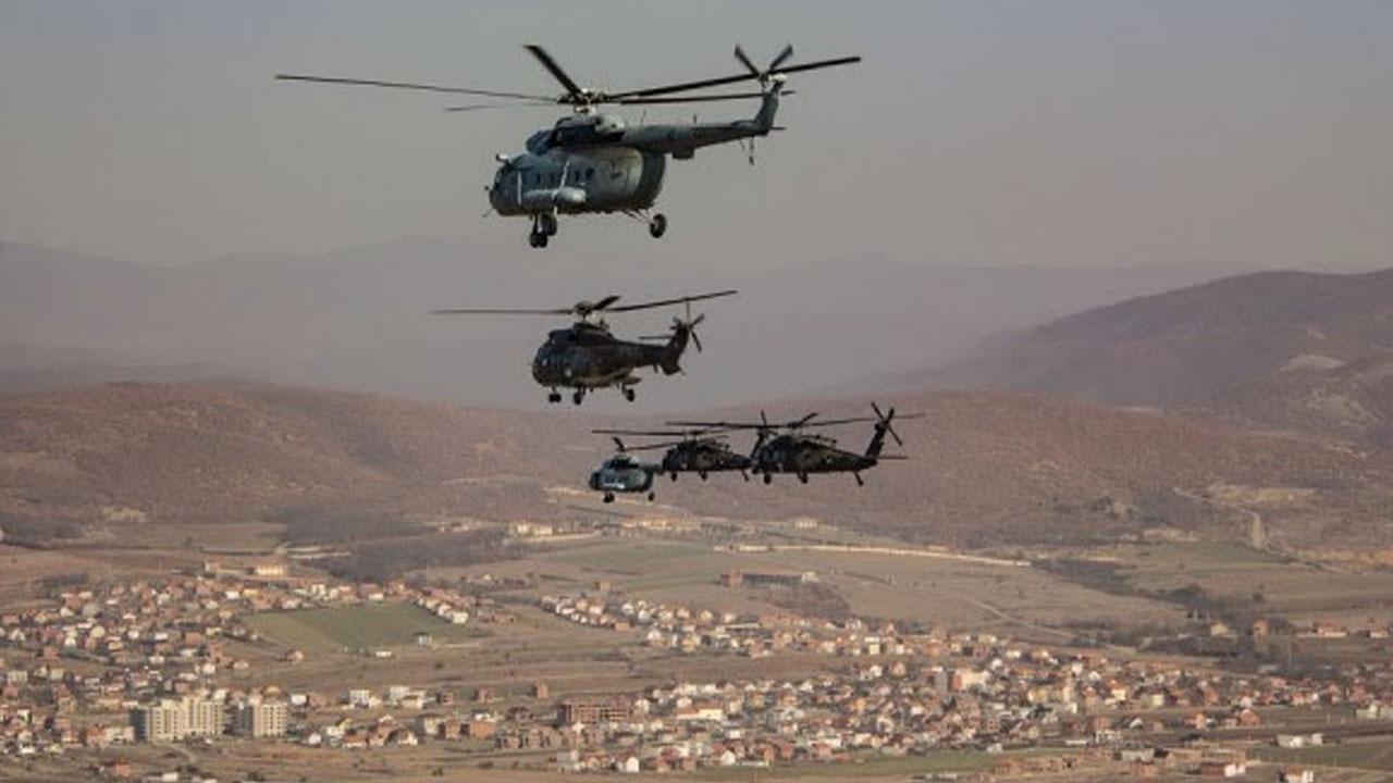 КФОР - хеликопстери