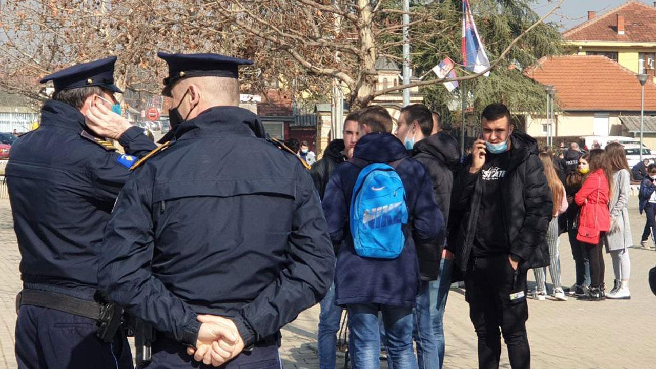 протест - полиција