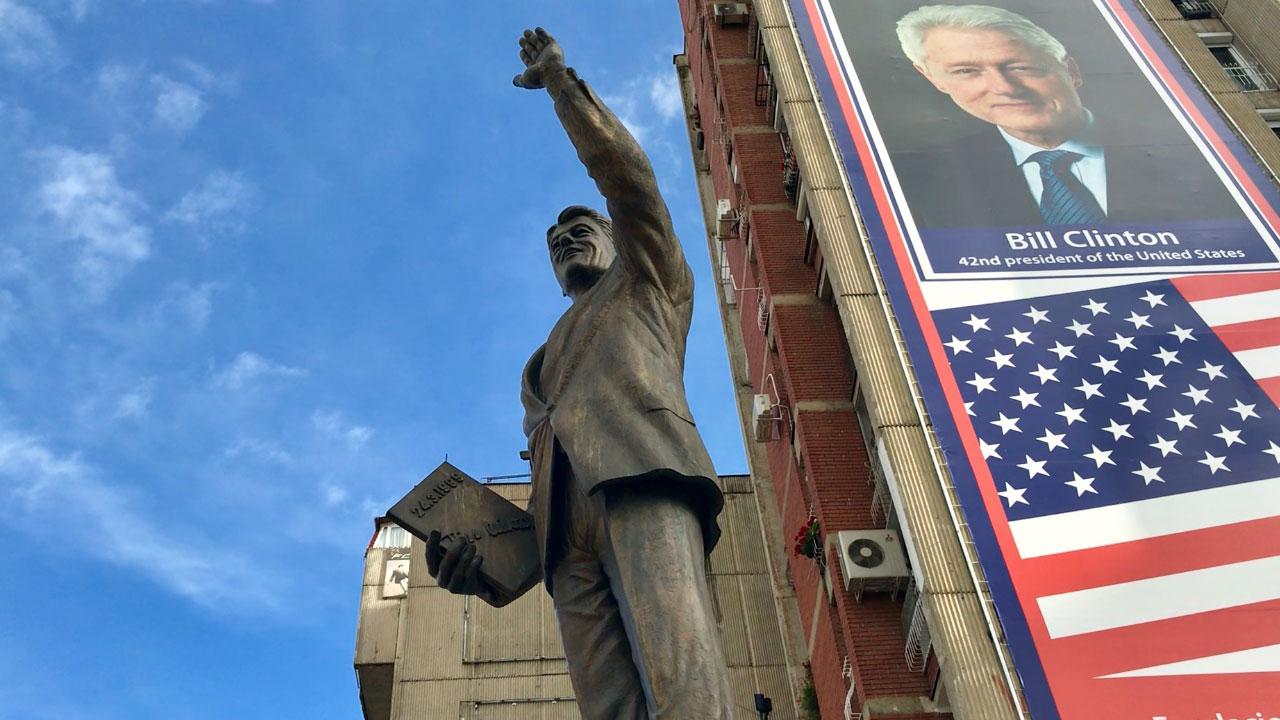 Споменик Билу Клинтону - Приштину