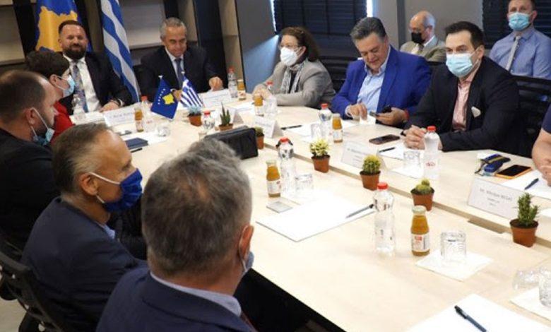Привредне коморе Грчке и Косова