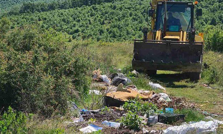 Уклањање дивље депоније